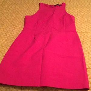 Zara Razorback hot pink sun dress
